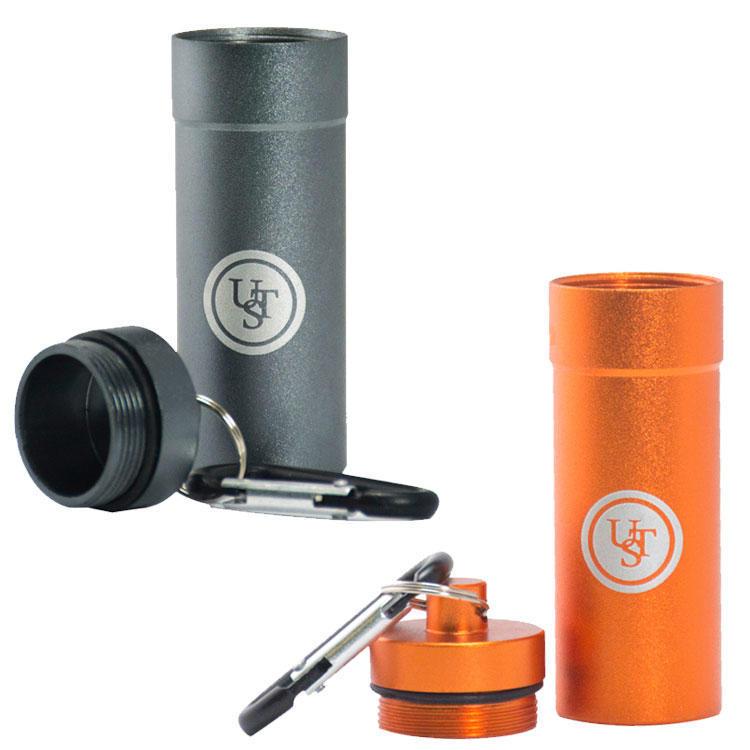 Ultimate Survival Technologies B.A.S.E Case 1.0 Titanium Aluminum Tinder Capsule
