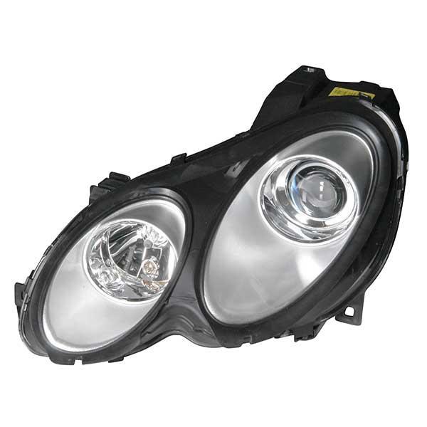 Smart Forfour 2006 3d Model: Headlamp Light Unit (complete)