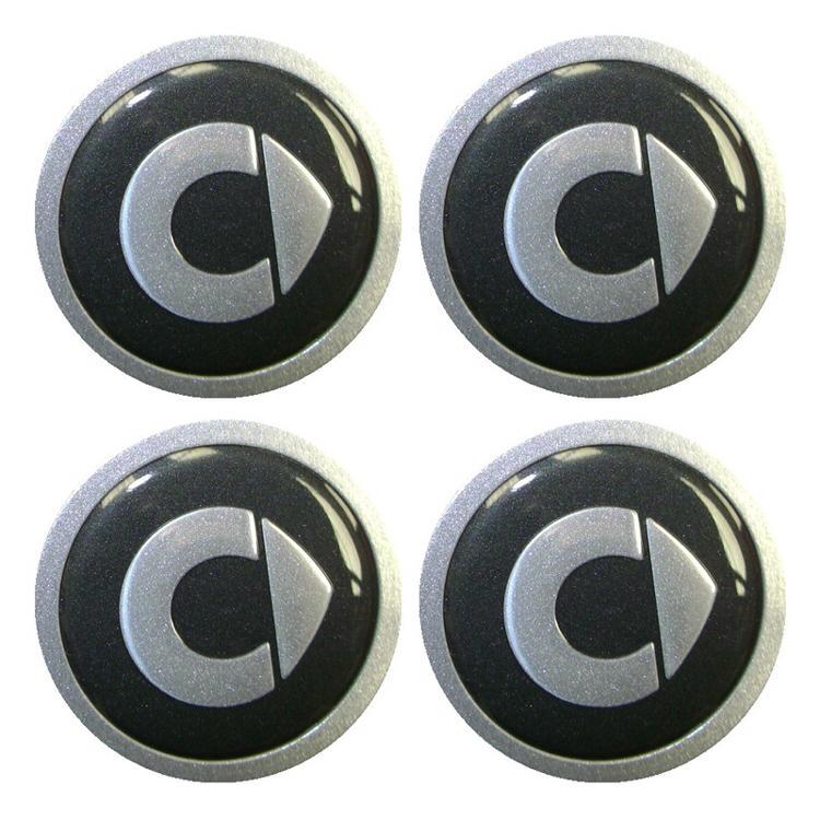 Quot Chicken Head Quot Wheel Centre Hub Caps By Smart Set Of 4