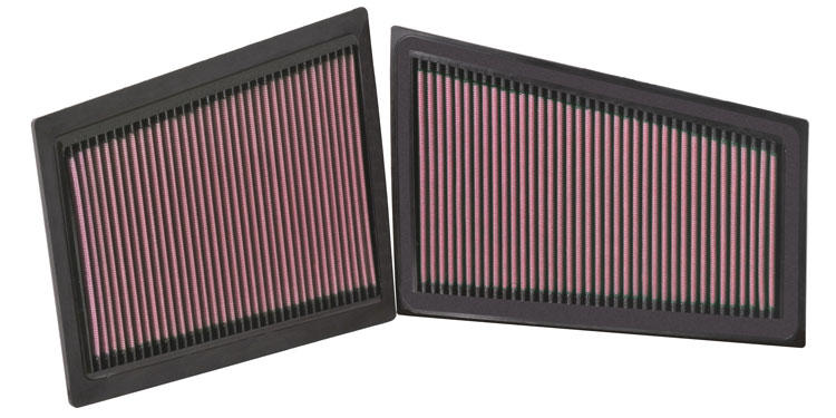 33-2940 K U0026n Replacement Air Filter  320 3 0l V6 Cdi  2 Per Box