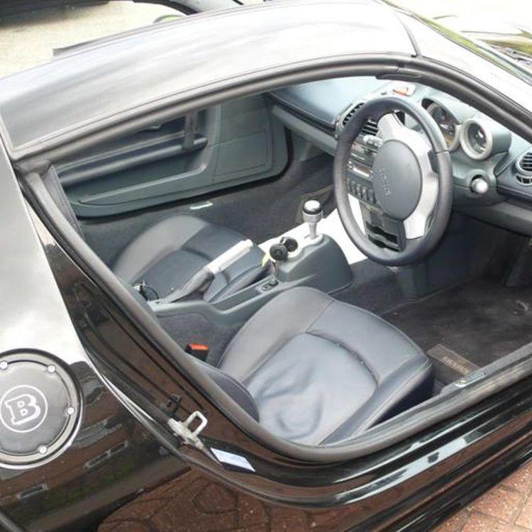 Front Door Seal Rear Section 452 Smart Roadster