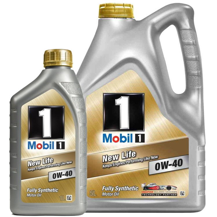 mobil 1 new life 0w 40 fully synthetic engine oil mb 229