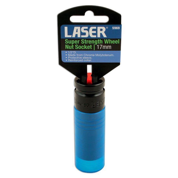 Alloy Wheel Nut Socket Super Strength 17mm By Laser