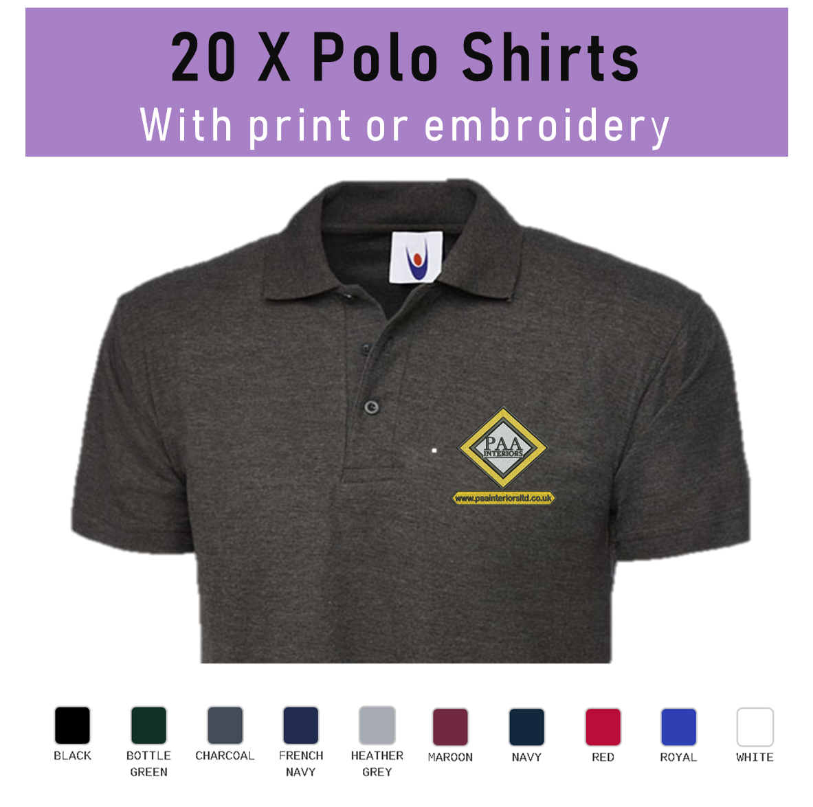 37d4acaa Uk Embroidered Polo Shirts – EDGE Engineering and Consulting Limited