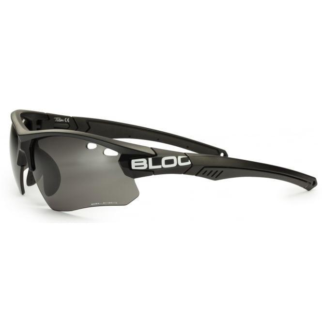 bfd543c18671 Bloc Titan Single Lens System PH630S Photochromic Sunglasses MATT BLACK