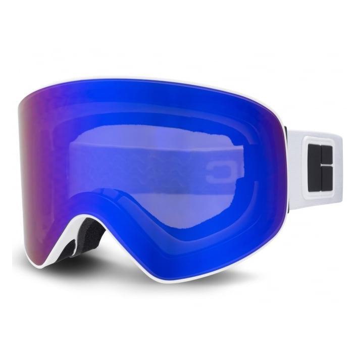 346440ad1a14 Bloc Jump JU7 Ski Goggles MATT WHITE ORANGE BLUE CAT2