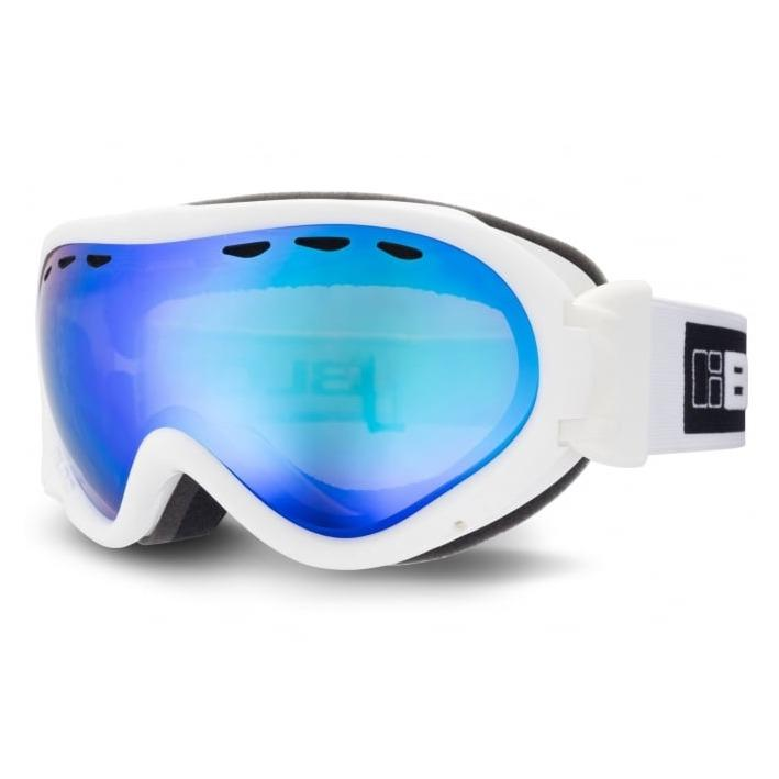 b461794333ac Bloc Spirit STW25 Ski Goggles SHINY WHITE ORANGE BLUE CAT2