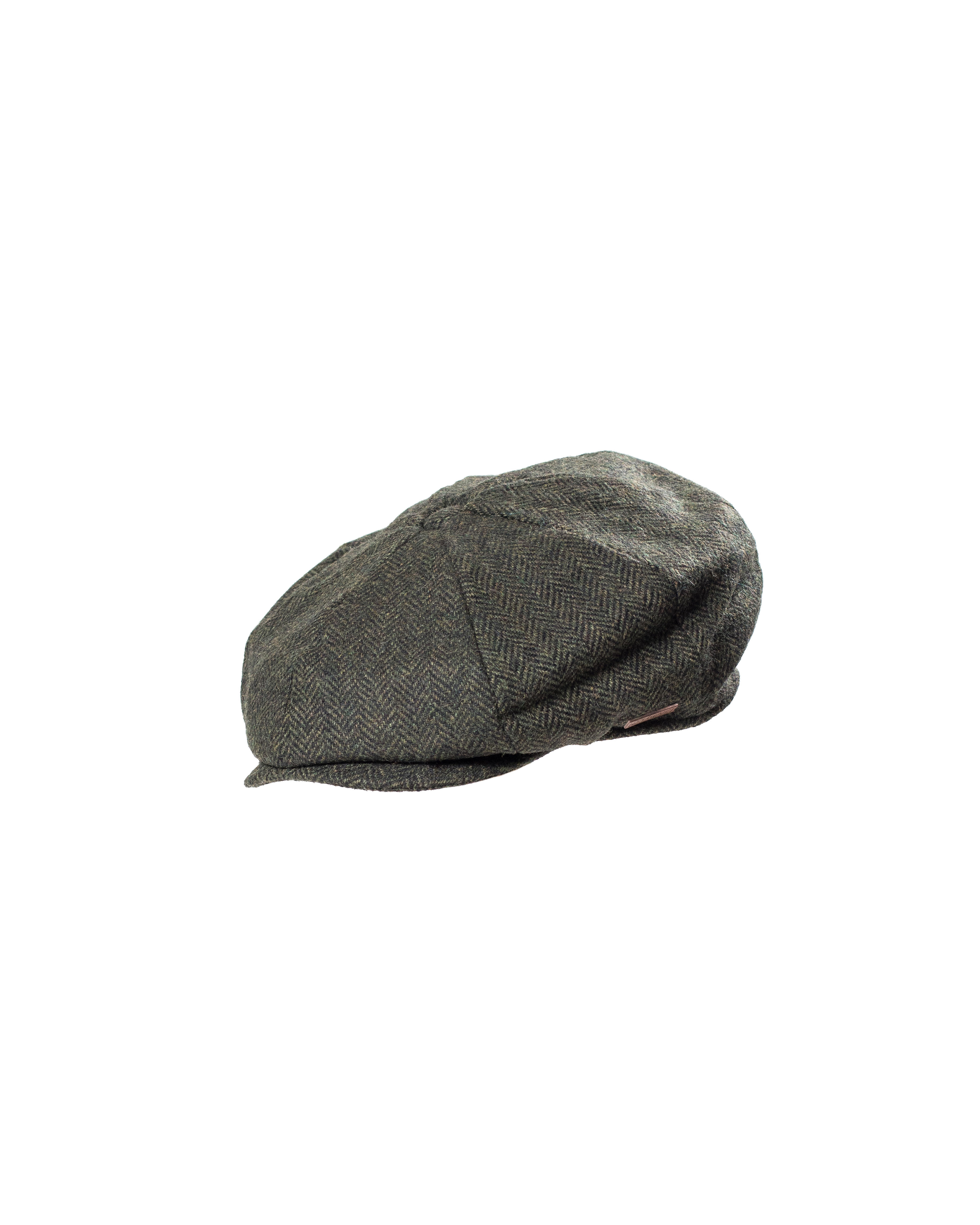2cedee36e4f Major Grey Herringbone Newsboy Cap