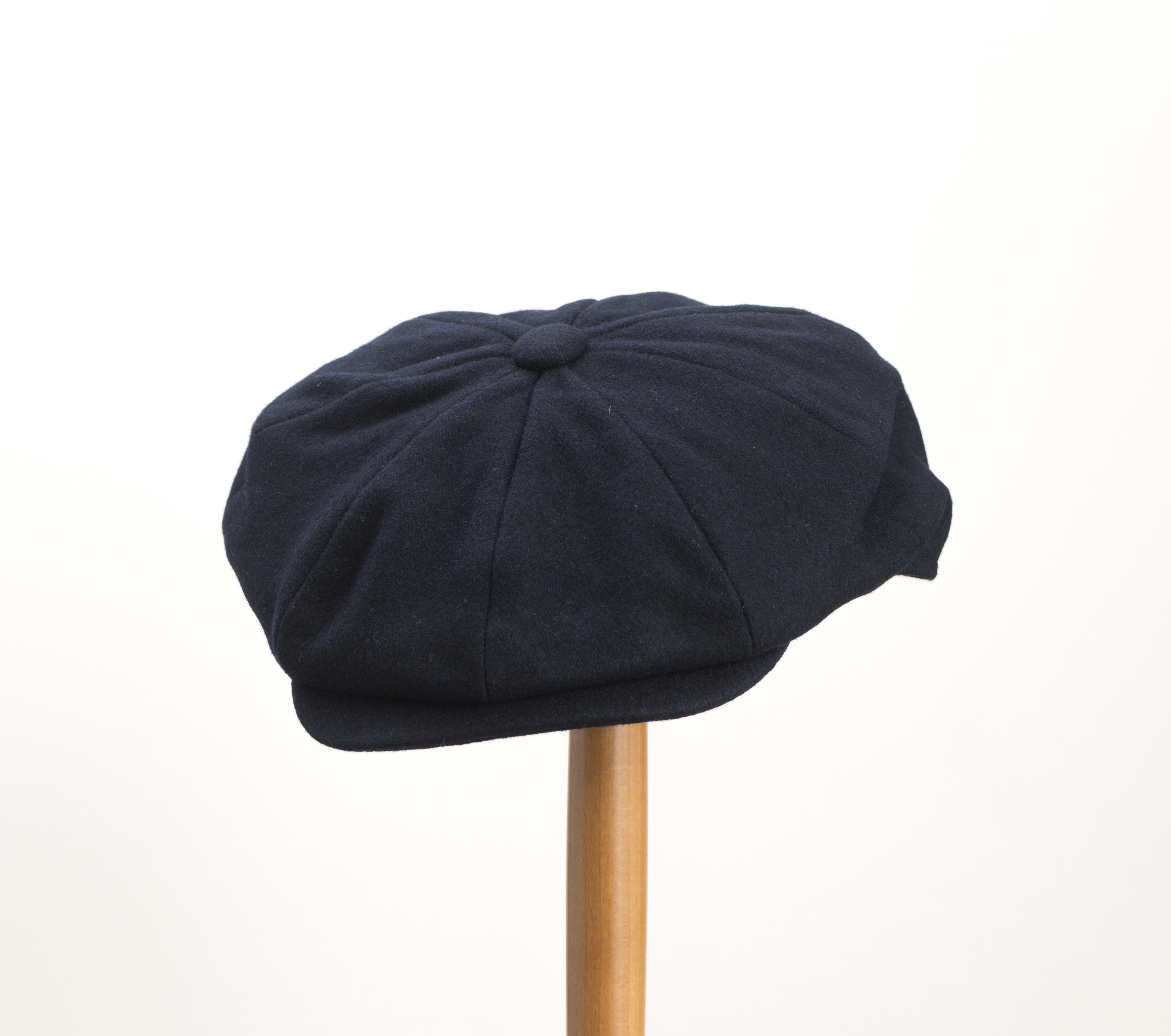 b339b1b7ff2 Whiteley Melton Newsboy Cap Navy