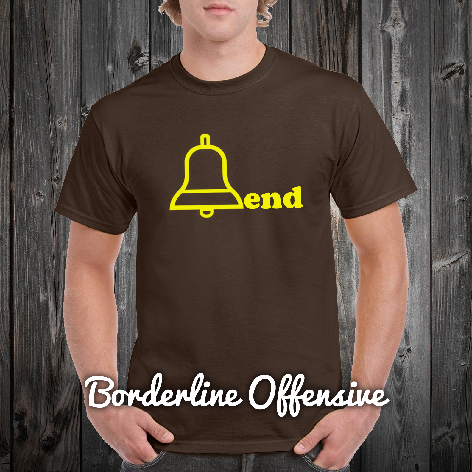 Borderline Offensive T Shirts