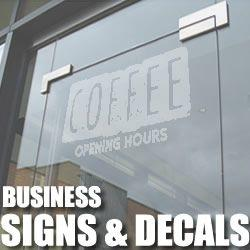 Business & Retail decals