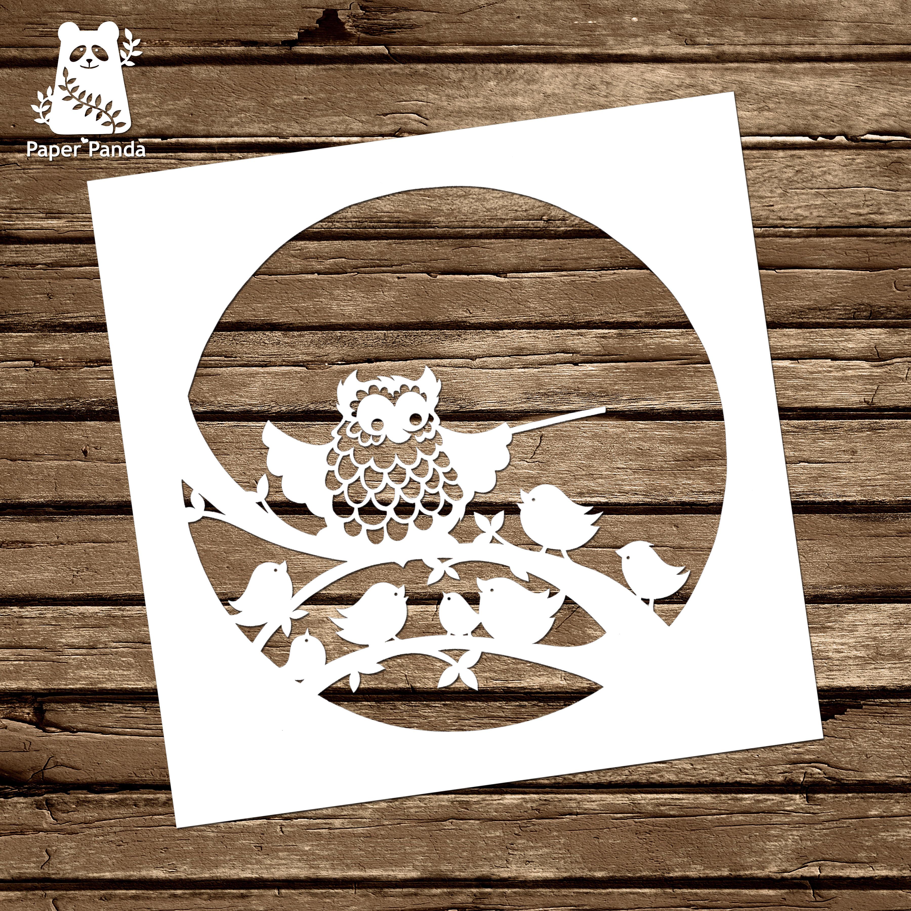 Papercut diy design template teacher owl personal use papercut diy design template teacher owl commercial licence maxwellsz