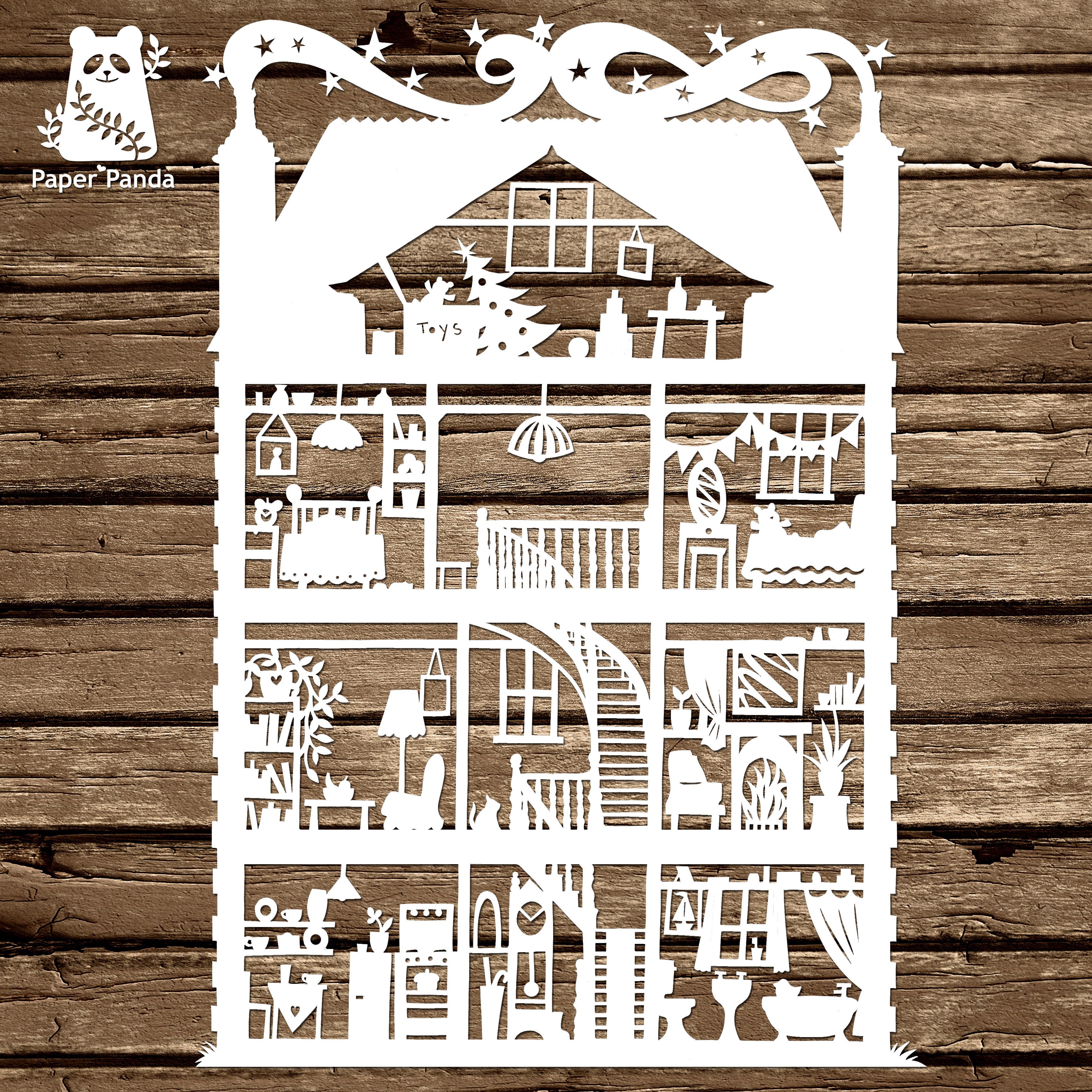 Diy templates commercial licences papercut diy design template house commercial licence maxwellsz