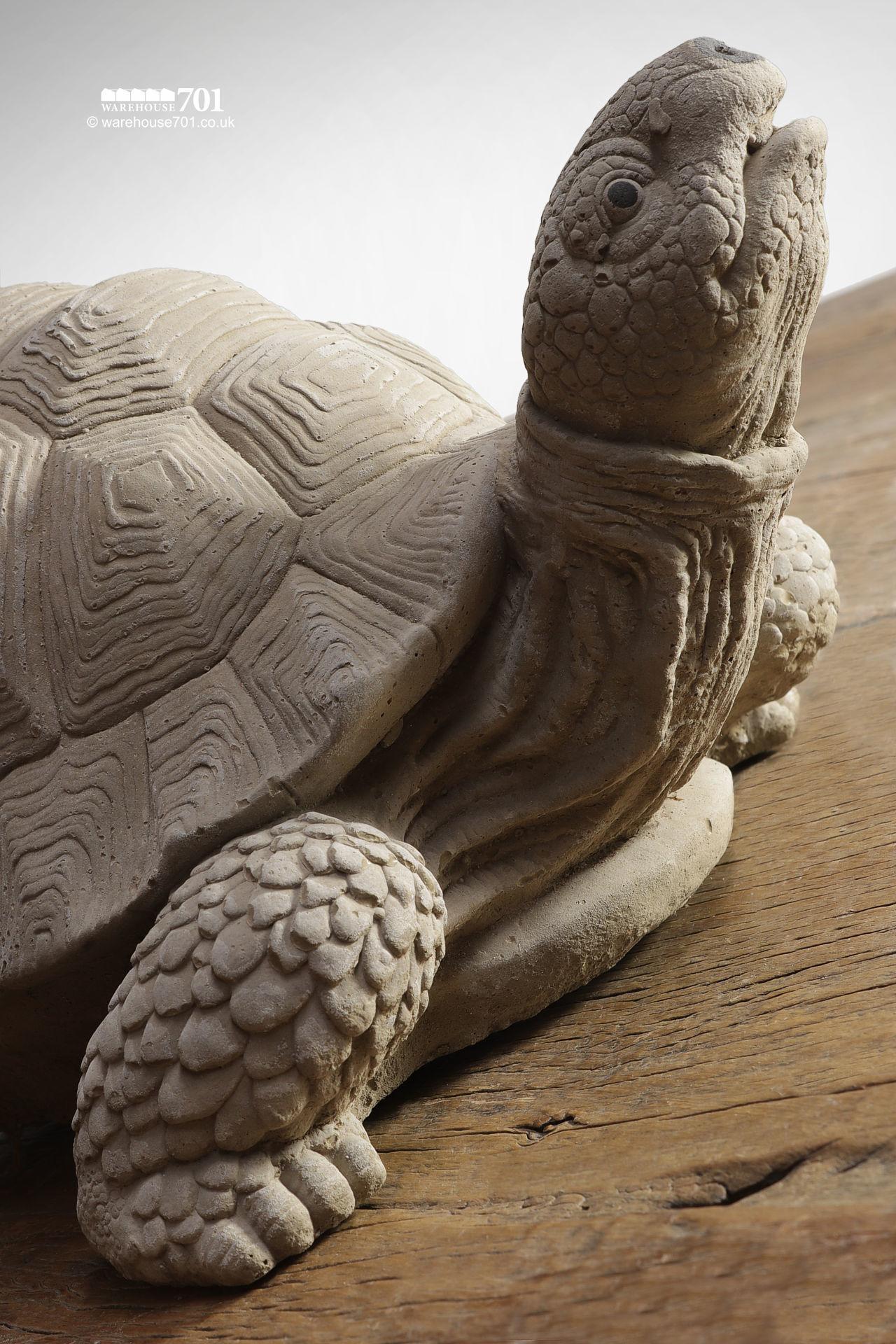 New Cast Stone Tortoise Garden Statue