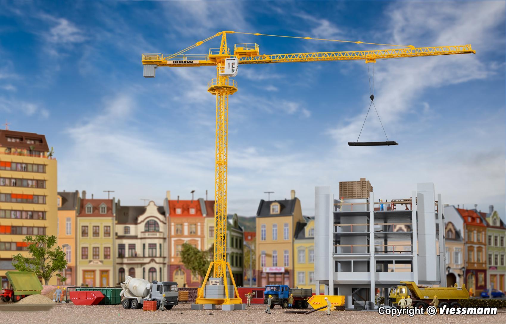 Kibri 10202 LIEBHERR tower crane