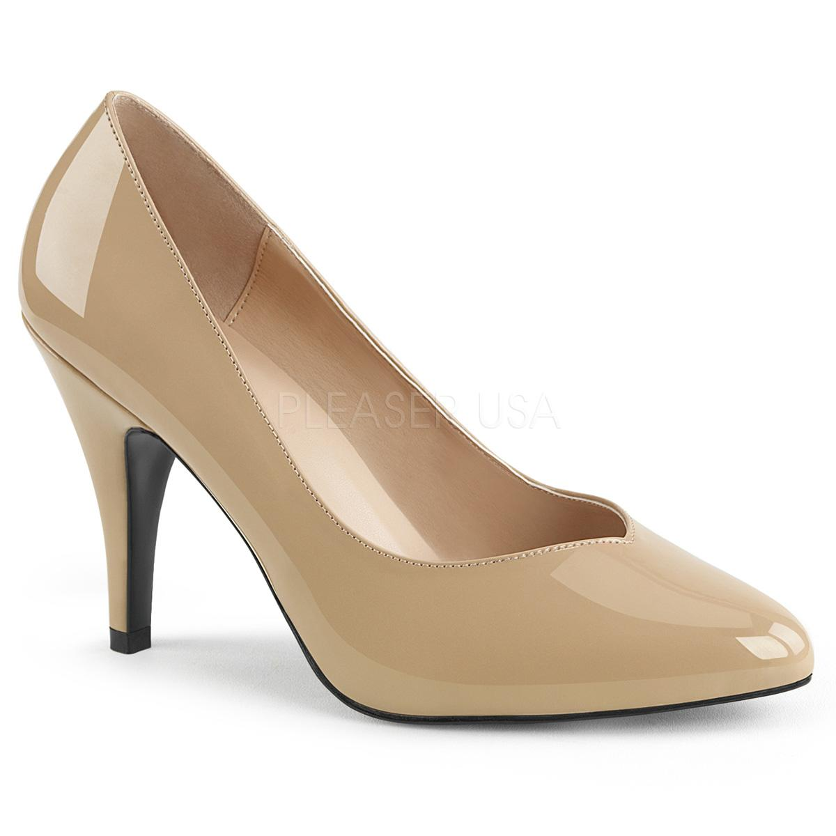 Cream Wide Fitting Court Shoe
