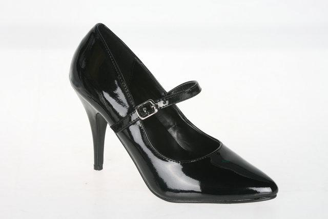 Black Mary Jane Shoe