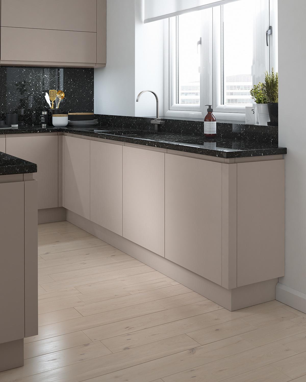 Gloss Matt Wood Kitchen Finishes: Matt Finish Kitchen Cabinet Doors