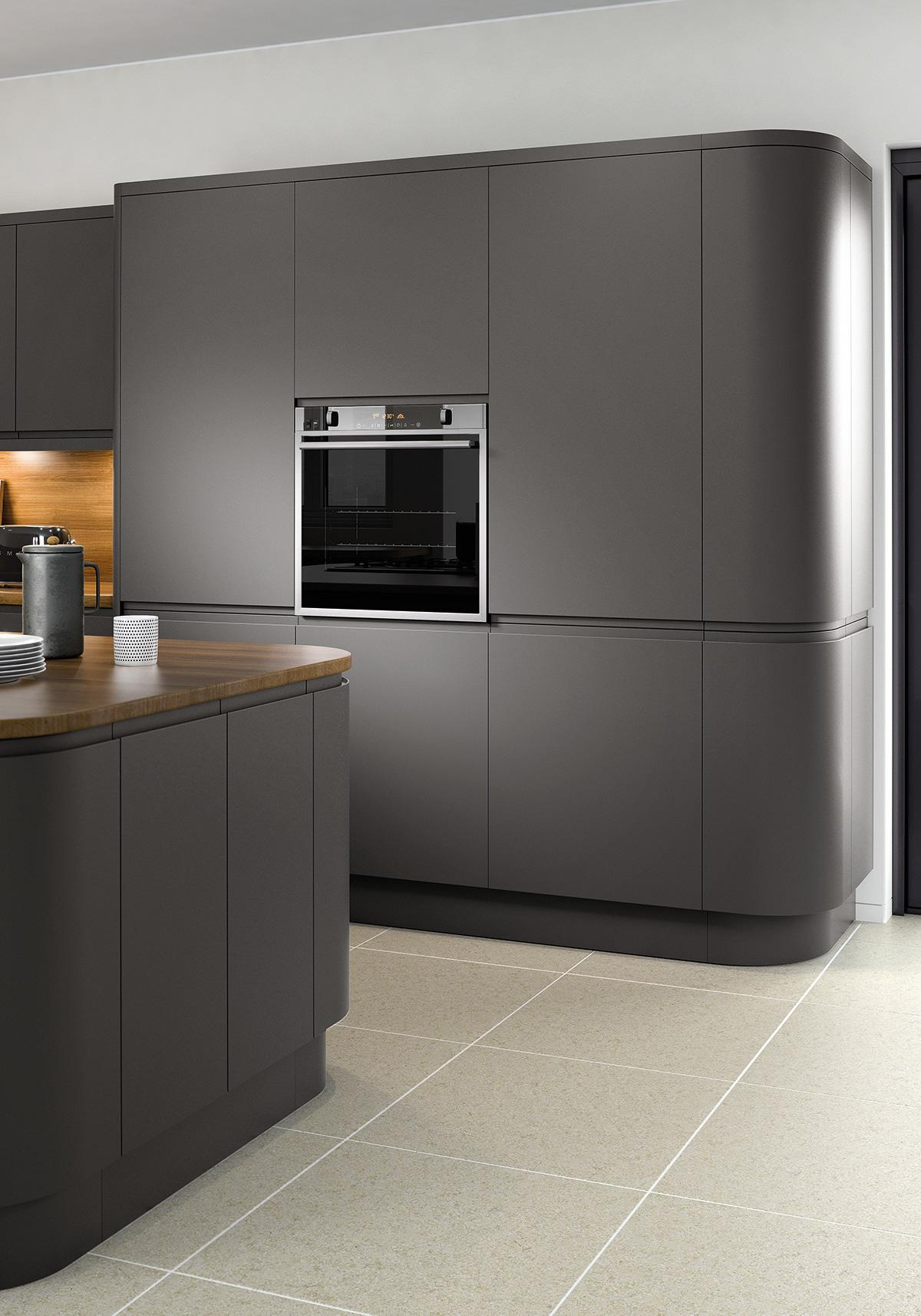 Bibury Matt Anthracite Kitchen Roomset
