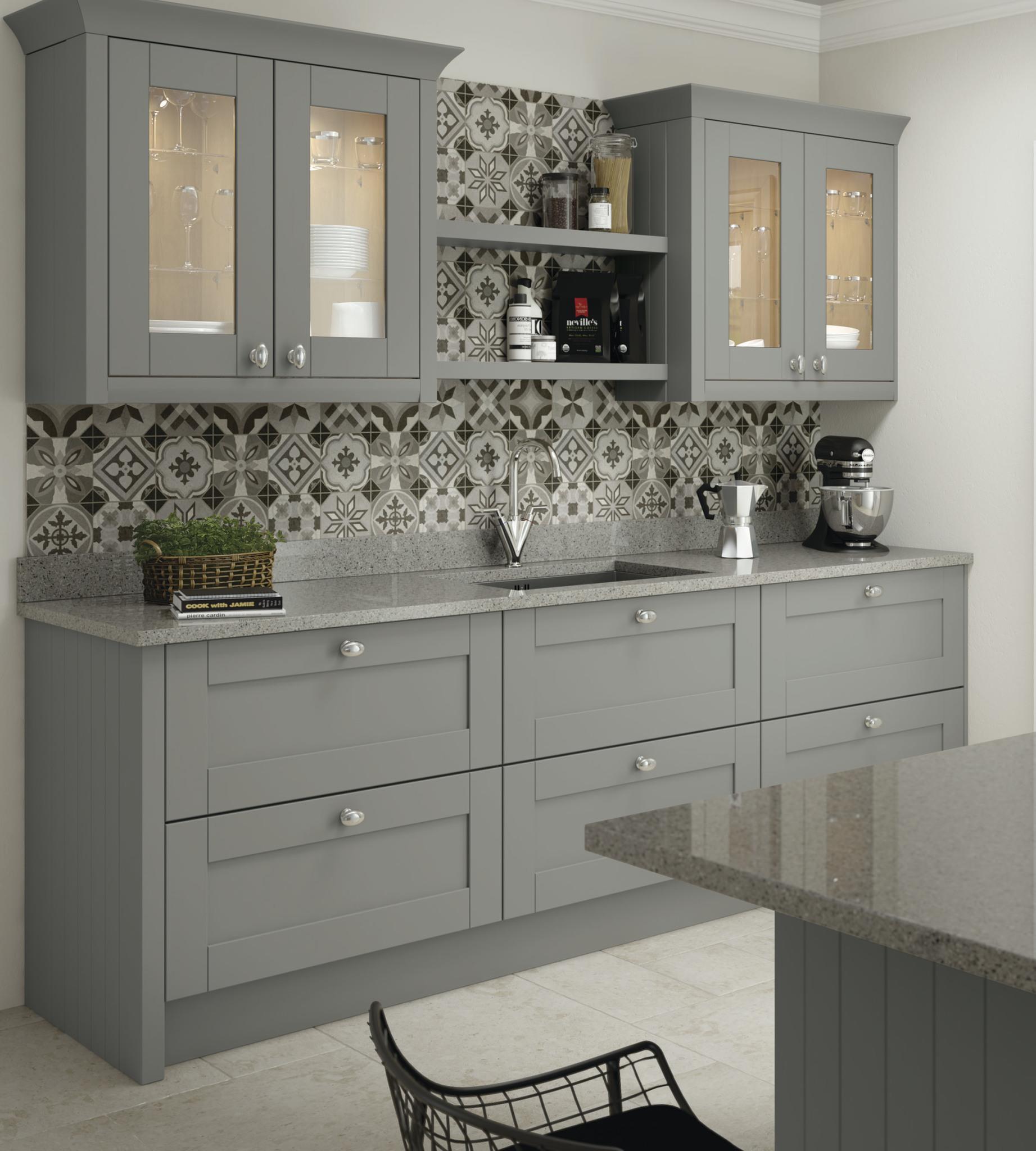Cambridge Shaker Style Kitchen Door