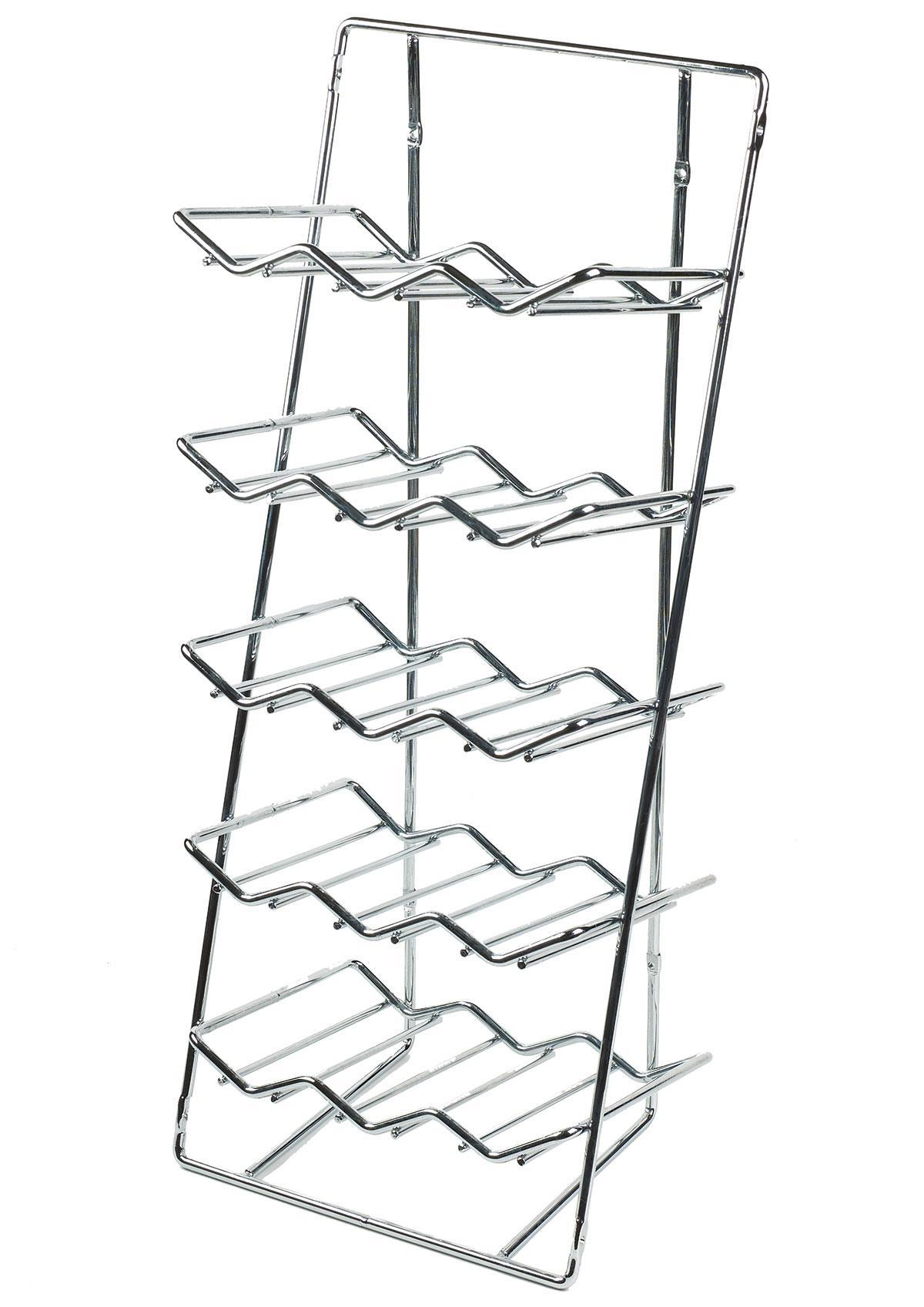 Wine Rack Insert - 300mm (Chrome)
