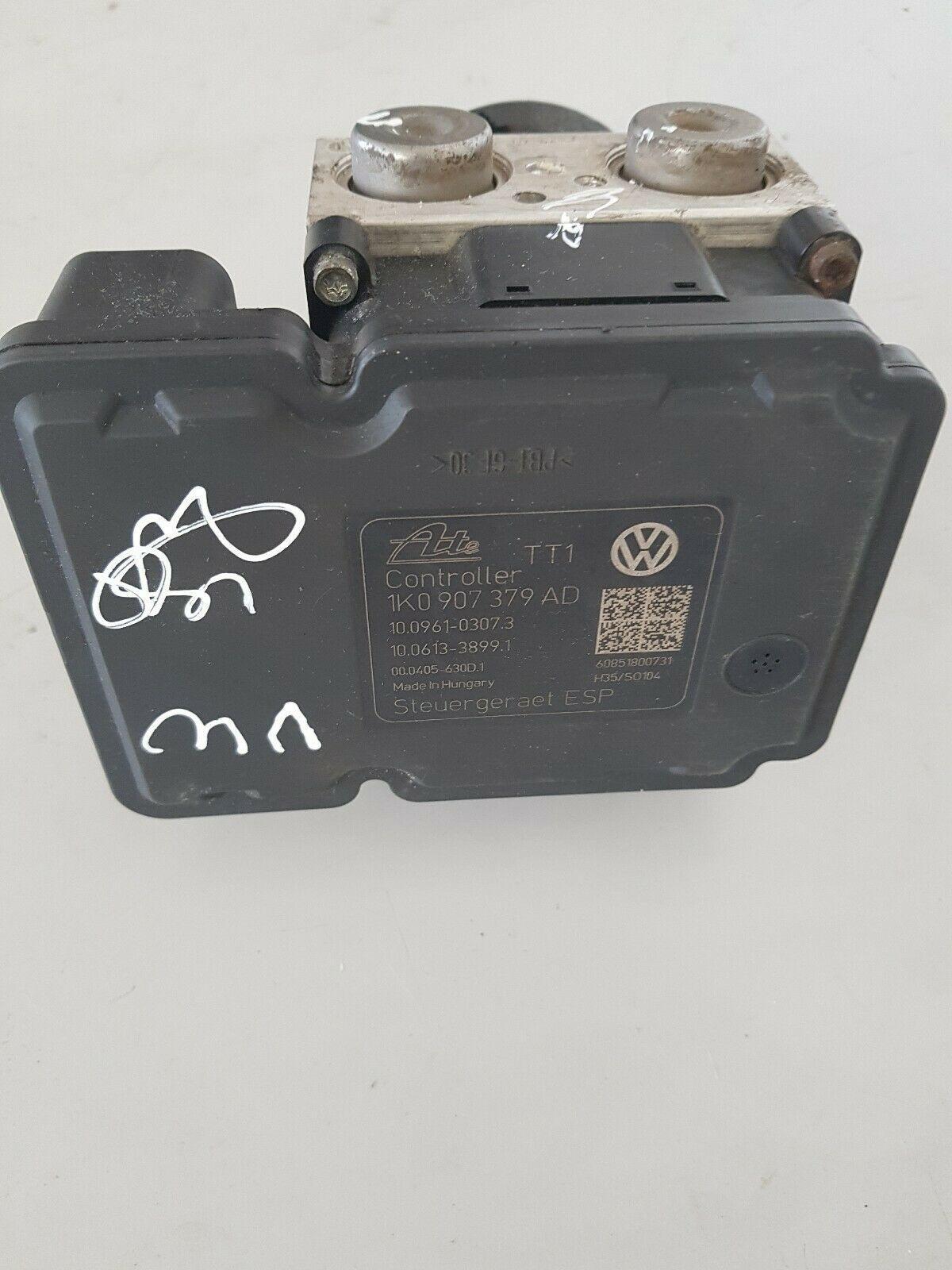 VW AUDI ABS PUMP MODULE 1K0907379AD 1K0614517BD SPARES OR