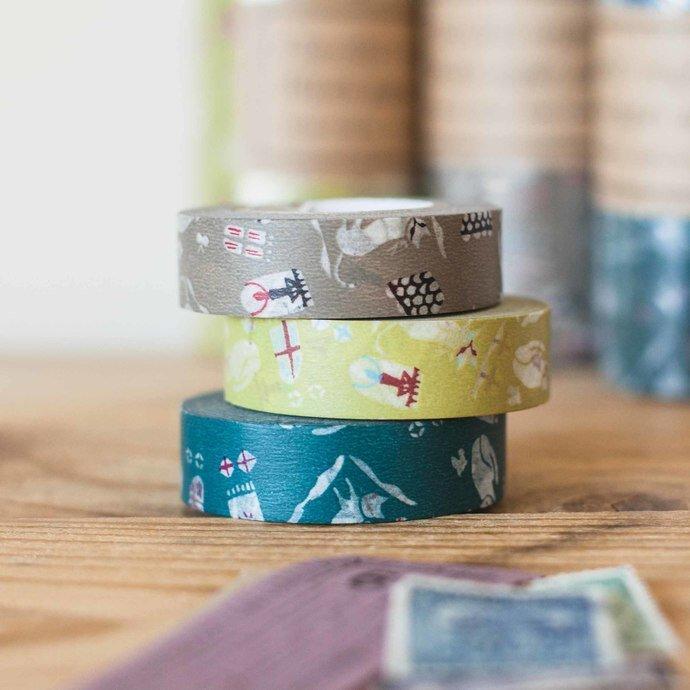 United Kingdom London Washi Tape 15mm Great Britain Washi Tape