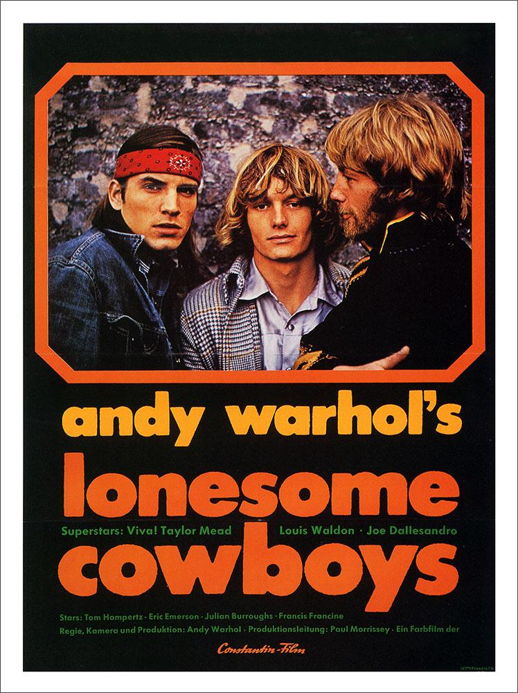 Andy Warhol, Lonesome Cowboys, Movie Poster : Art Print £7 ...