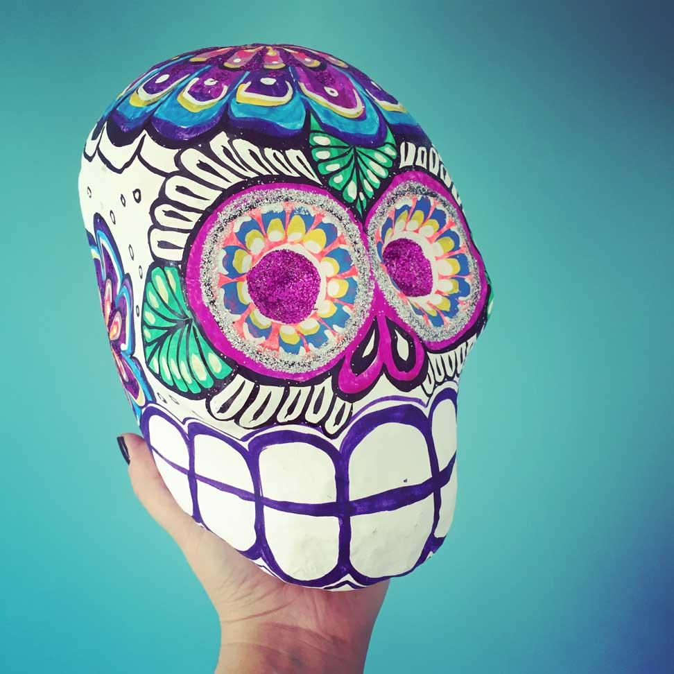 Mexican Day of the Dead Skull