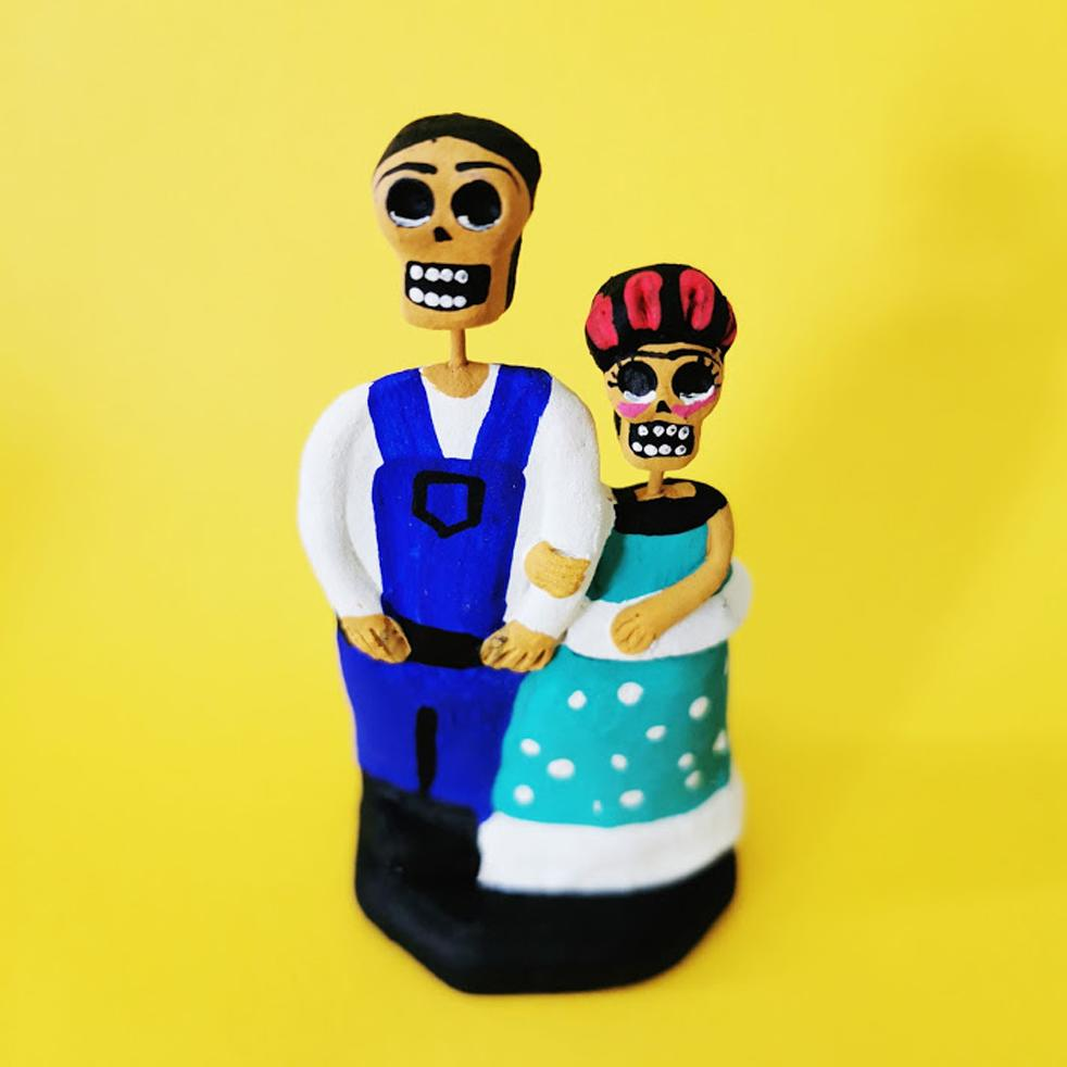 Frida and Diego ornament