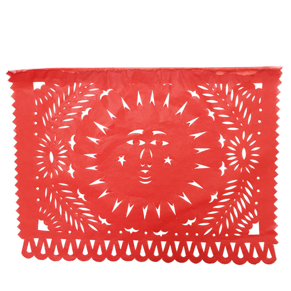 Large Colour Papel Picado