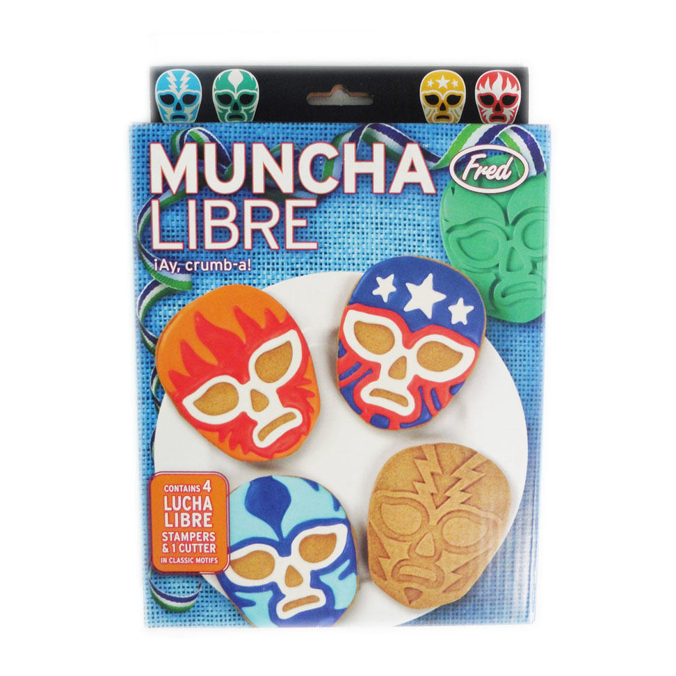 Lucha Libre Biscuit Cutters
