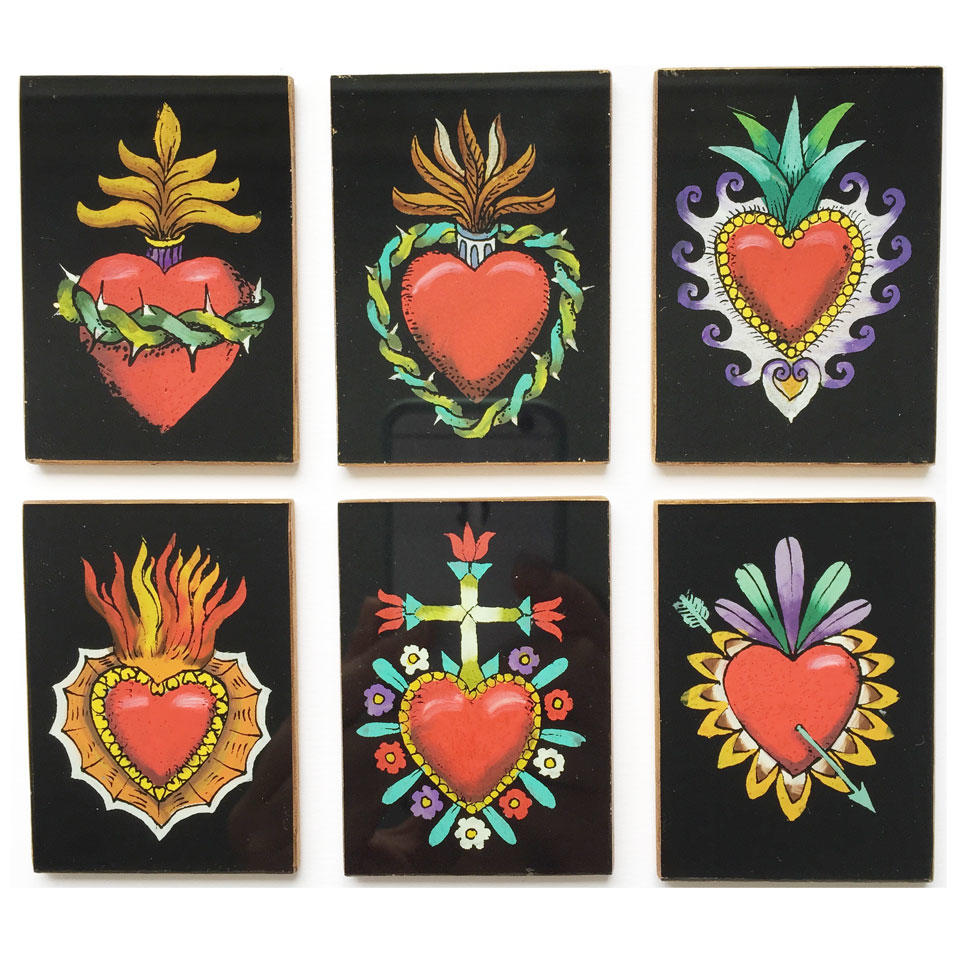 Sacred Heart Pocket Mirrors