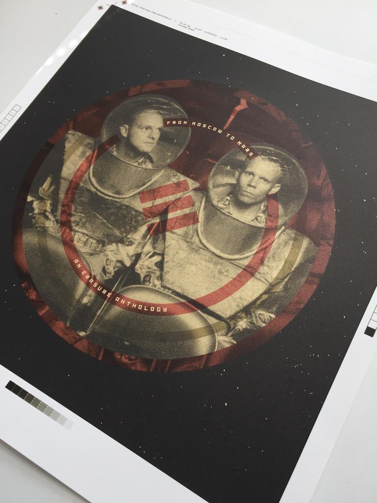 """From Moscow To Mars"" Screen Print Shots"