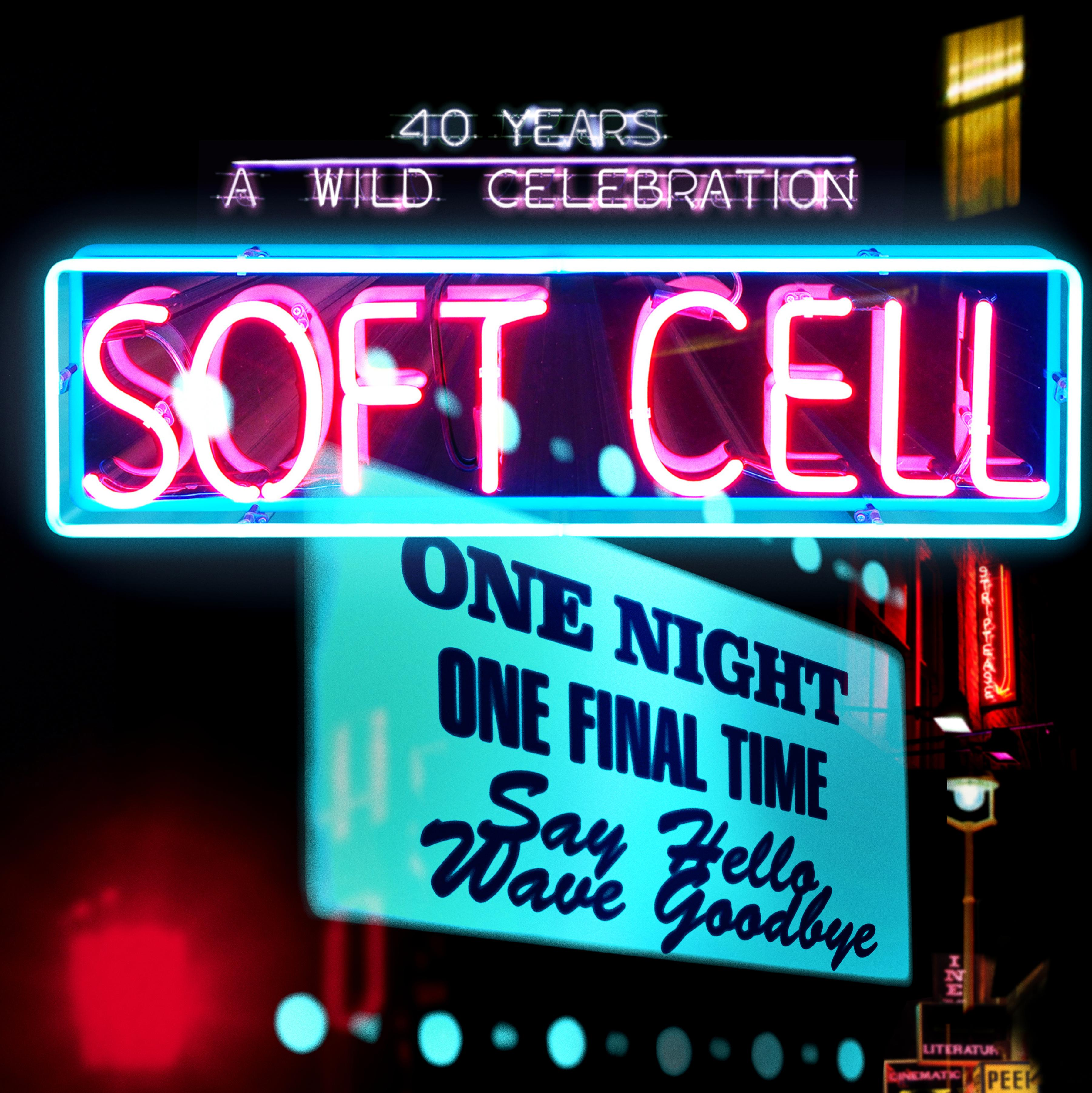 Soft Cell Say Hello Wave Goodbye Show Deluxe Programme