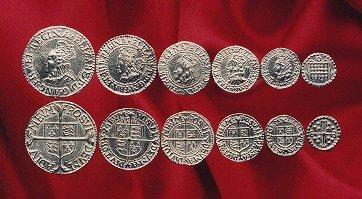 Elizabeth I Coin Set