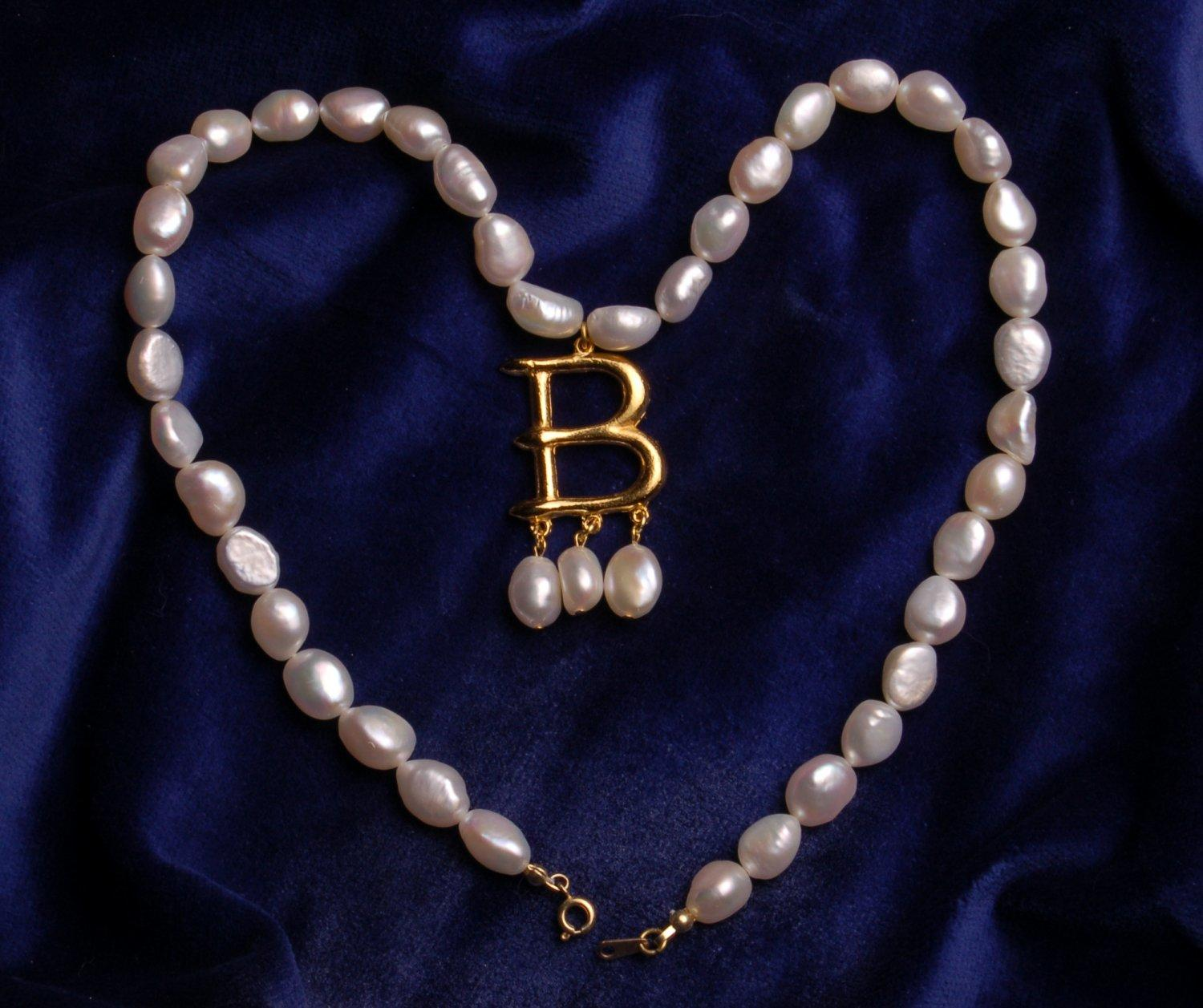 Boleyn B Necklace