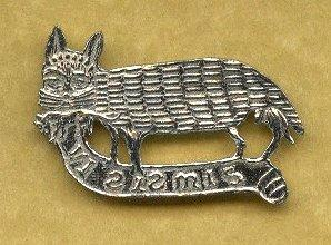 cat and mouse badge