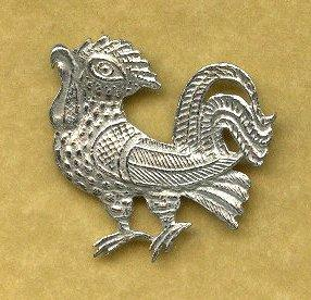 cockerel badge