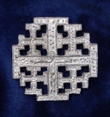 medieval cross badges