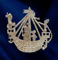 pilgrim and secular badges