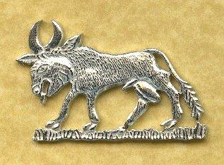 black bull of clare badge