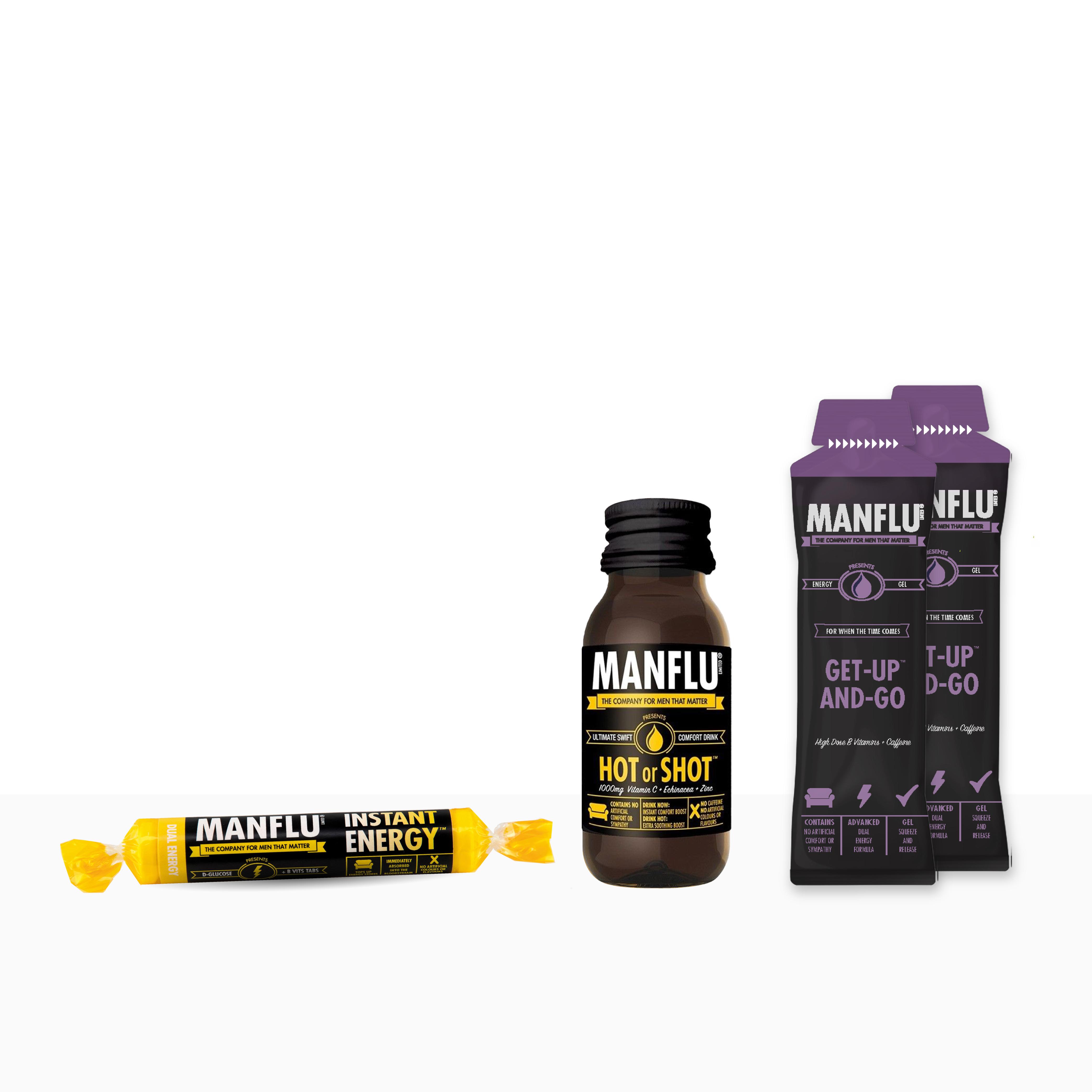 MANFLU Monday Kit: For men that matter!