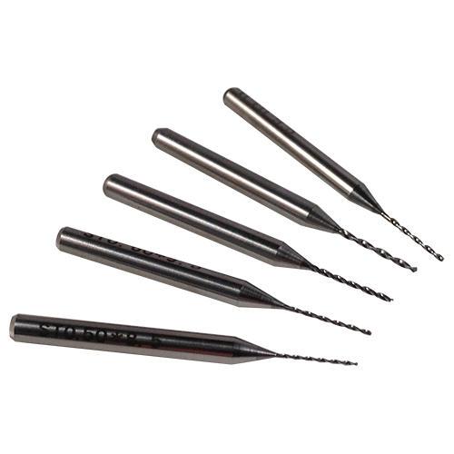 Tungsten Carbide Micro Drill Bits | Sizes 0.1mm - 1/8 inch