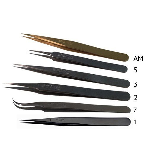 Watchmaker/'s tweezers for hands disassembly