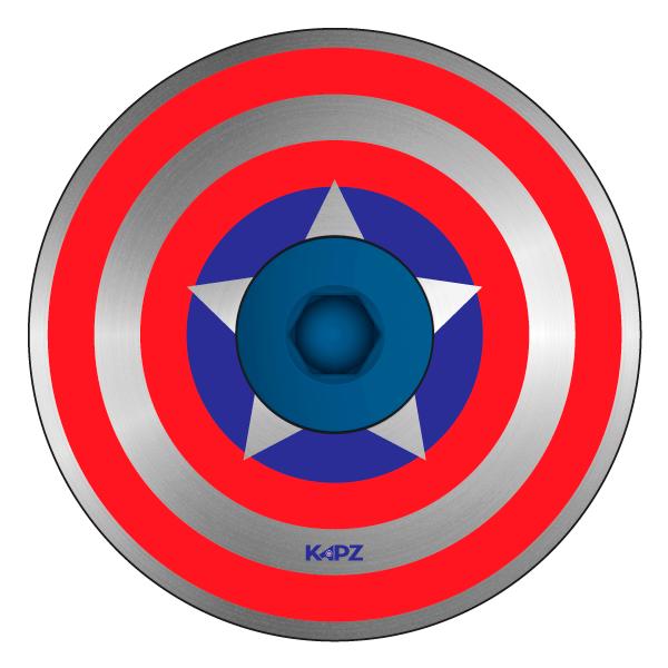 Captain America Headset Cap