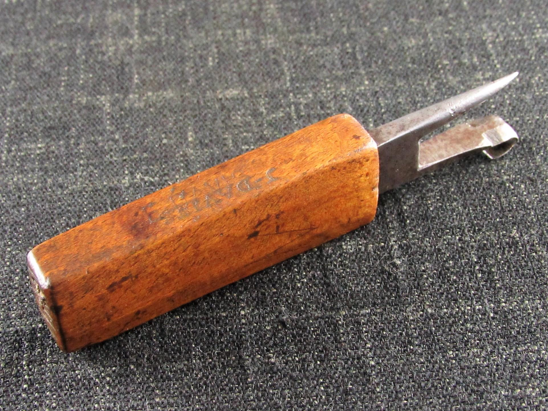 Wooden Handled Timber Scribe or Race Knife