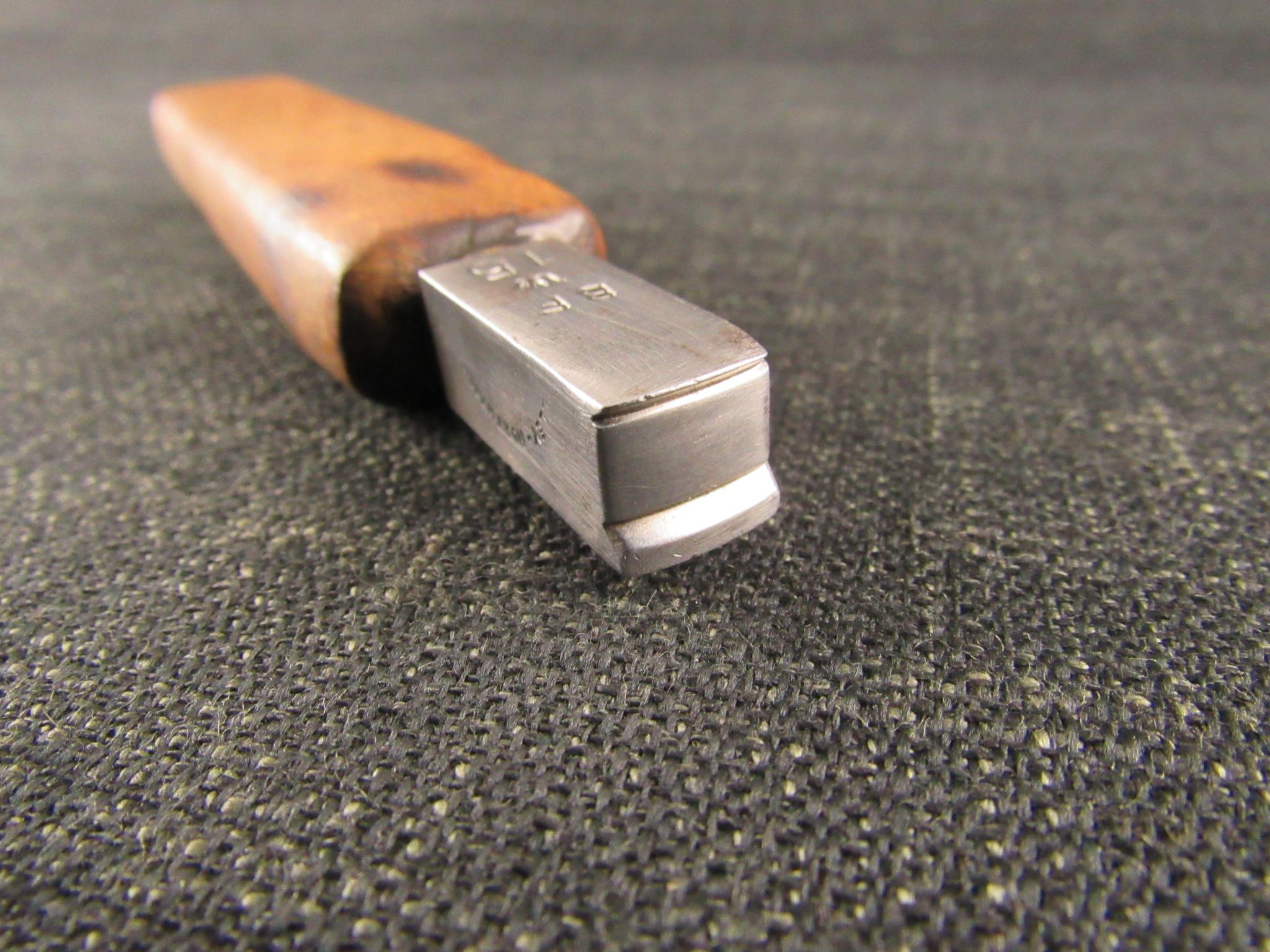 Shoe Makers Double Edge Iron by DILLEY - No.15