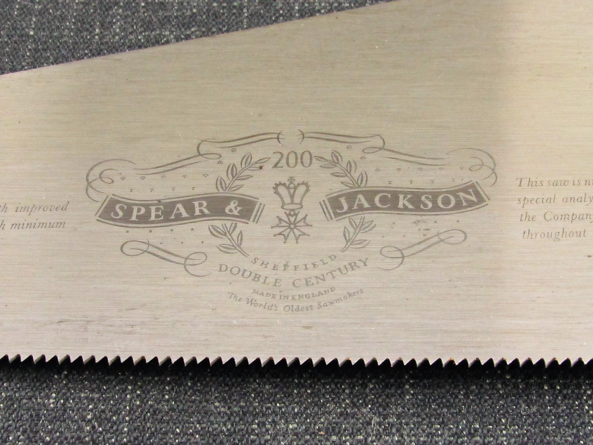 Cross Cut SPEAR & JACKSON Double Century Panel Saw