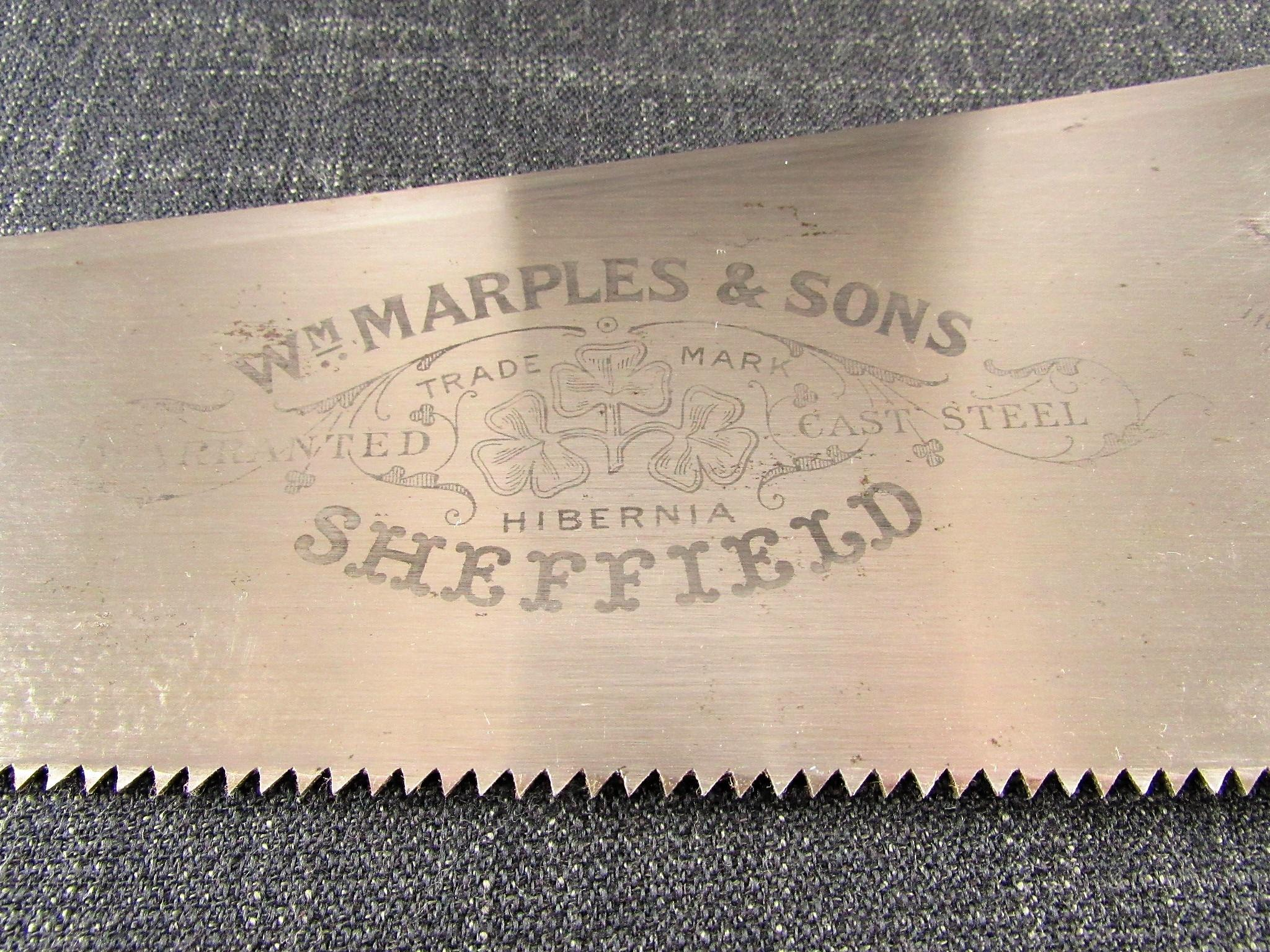 MARPLES Panel Saw - No.2521 24 inch Rip Cut